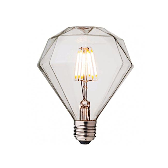 LED Diamond Edison Bulb - 0