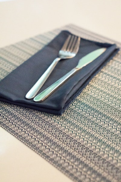 PVC Woven Placemat - Clear Sky (Set of 4) - Image 2