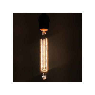 Edison T185 Spiral Tubular Filament Bulb