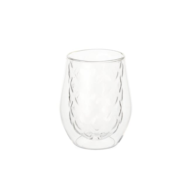 T2 Diamond Double Wall Glass - Clear - 0