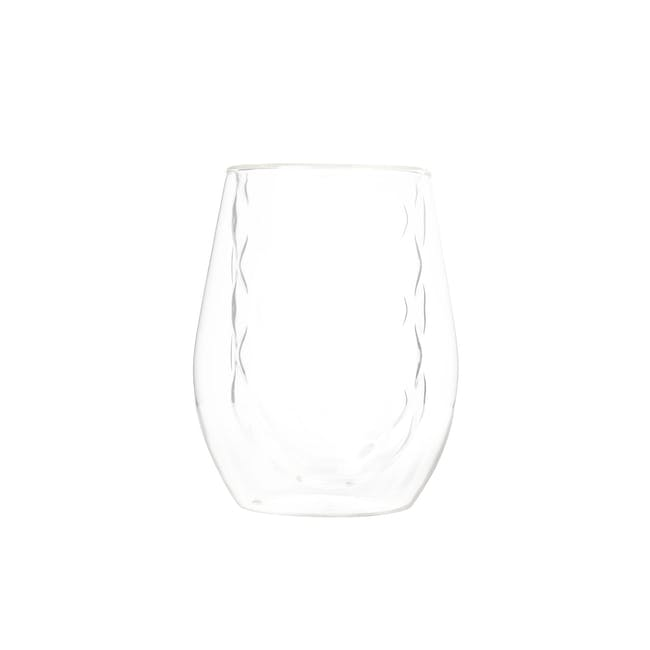 T2 Diamond Double Wall Glass - Clear - 1