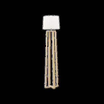 Amber Floor Lamp - Oak - Image 1