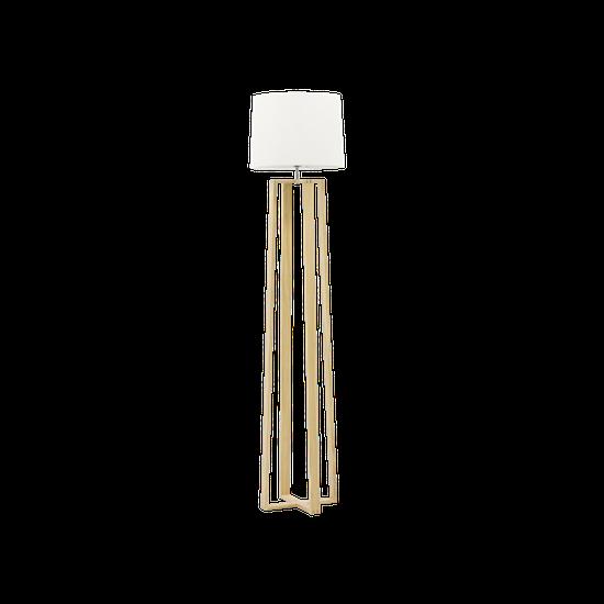 Springbud - Amber Floor Lamp - Oak