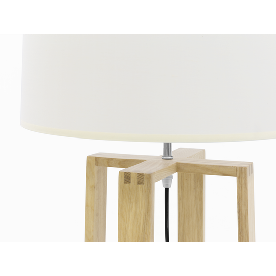 Springbud - Amber Floor Lamp - Oak, White