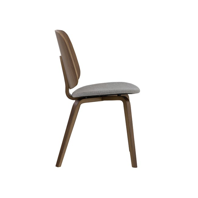 Averie Dining Chair - Cocoa, Dolphin Grey - 2