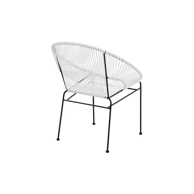 Acapulco Chair - Black, White - 3