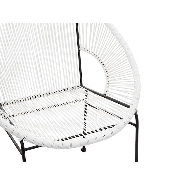 Acapulco Chair - Black, White - 4