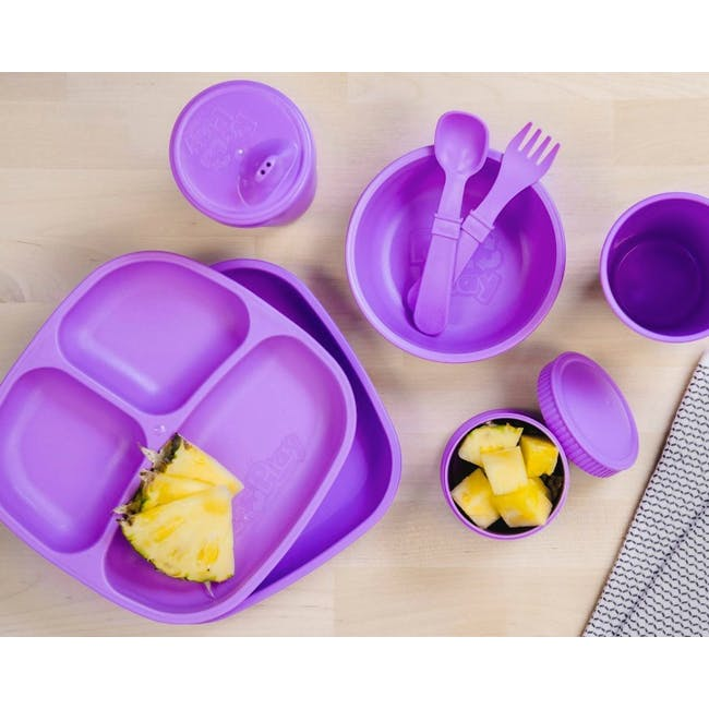 Re-Play Snack Stack Set - Purple - 2