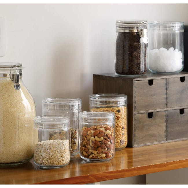 Cellarmate Charmy Clear Tough Container (4 Sizes) - 1