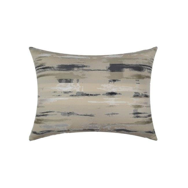 Eclipse Oblong Cushion Cover - Black - 0
