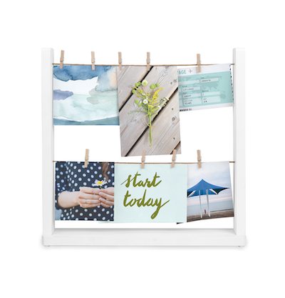 Hangit Desk Photo Display - White - Image 1
