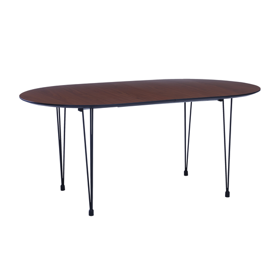 Rikku Extendable Oval Dining Table 1 7m