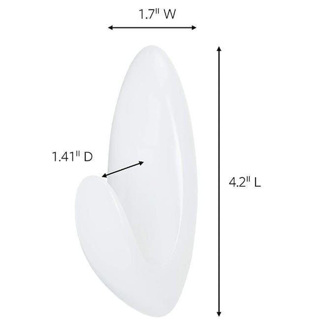 Command™ Bath Hook (2 Sizes) - 8