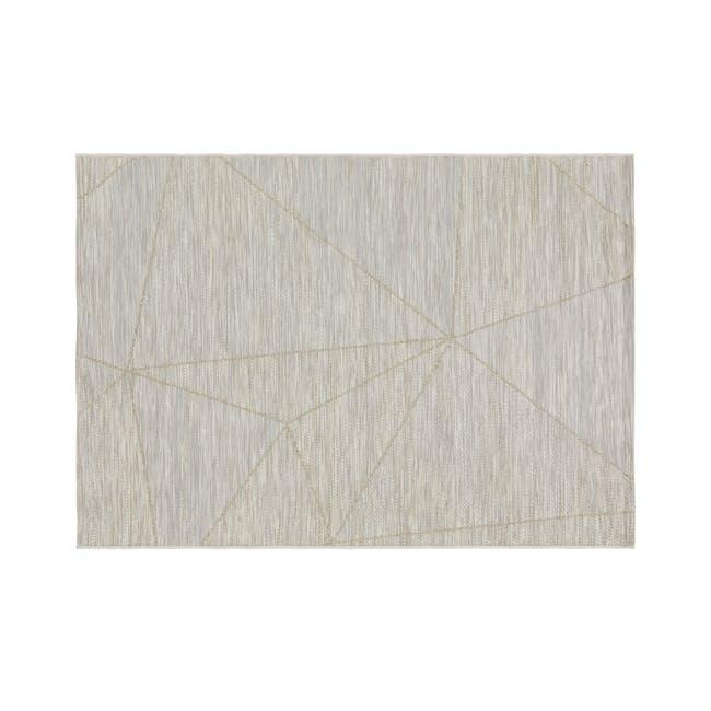 Mira Flatwoven Rug 2.9m x 2m  - Light Angles - 0