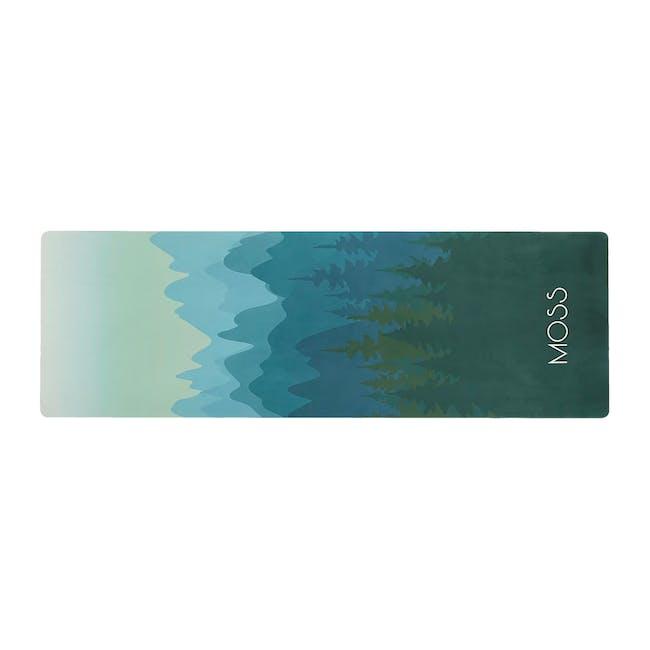 MOSS 2-in-1 Yoga Mat - Woodland - 0