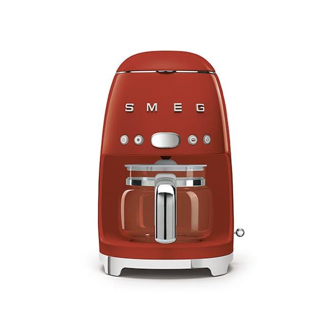 Smeg Drip Coffee Machine - Red - 0