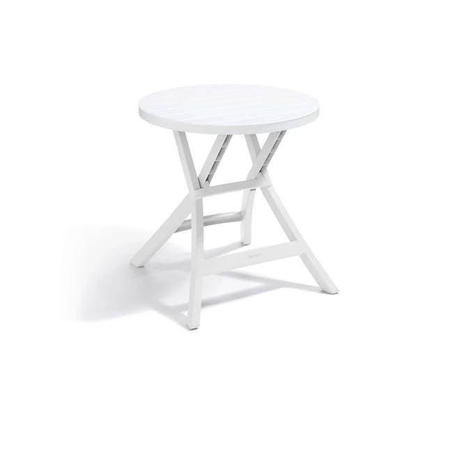 Oregon Folding Table - White - 0