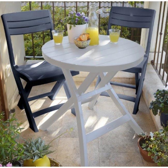 Oregon Folding Table - White - 2