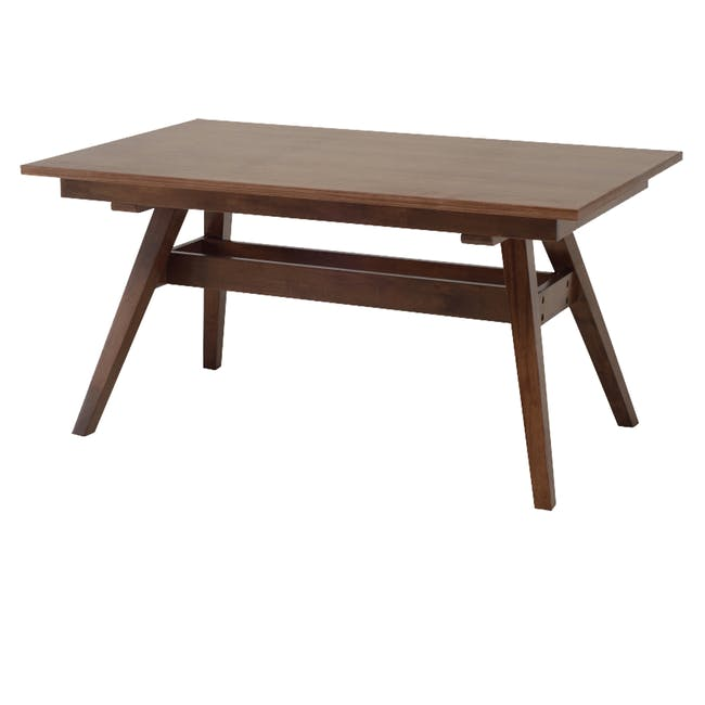 Valko Dining Table 1.5m - Walnut - 0