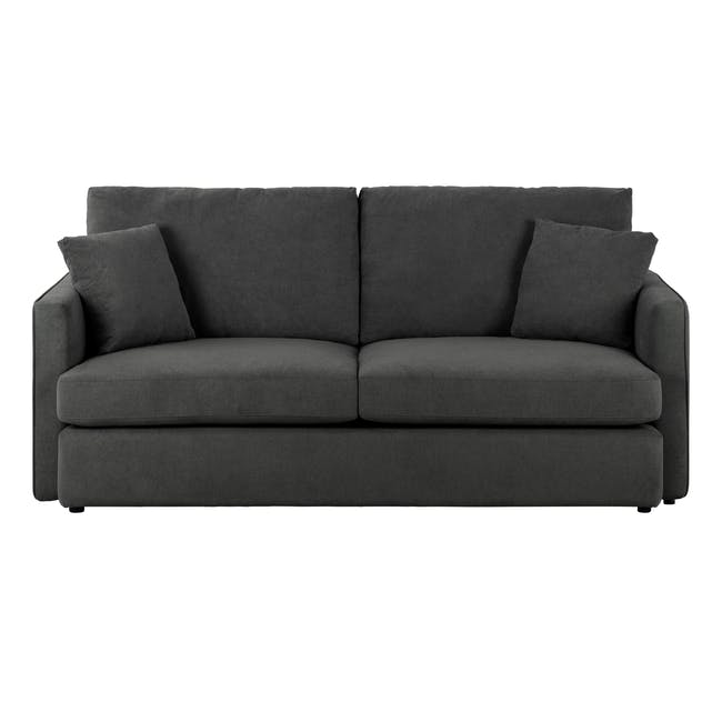 Ashley 3 Seater Lounge Sofa - Granite - 0