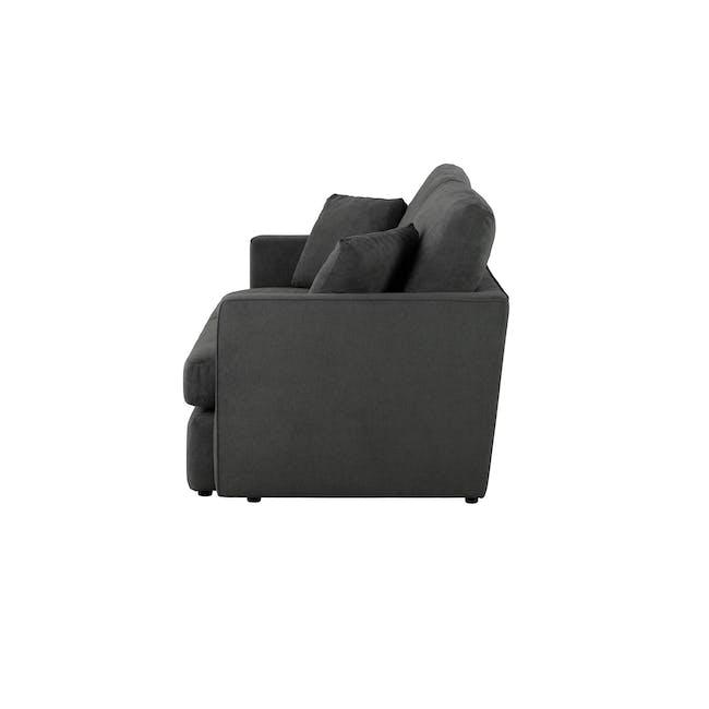 Ashley 3 Seater Lounge Sofa - Granite - 5