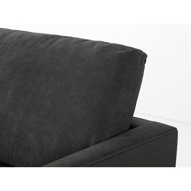 Ashley 3 Seater Sofa in Granite with Kiwami in Battleship Grey - 5