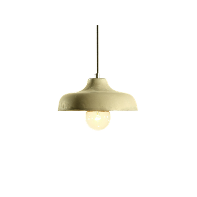 Odine Cement Pendant Shade Lamp - Image 1