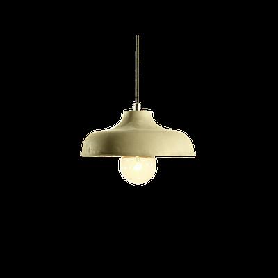 Odine Cement Pendant Shade Lamp