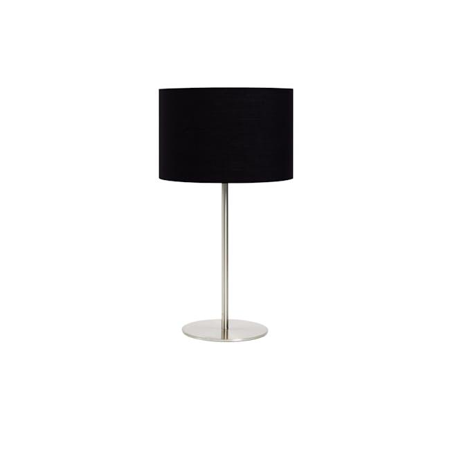 Reese Table Lamp - Black, Nickel - 0