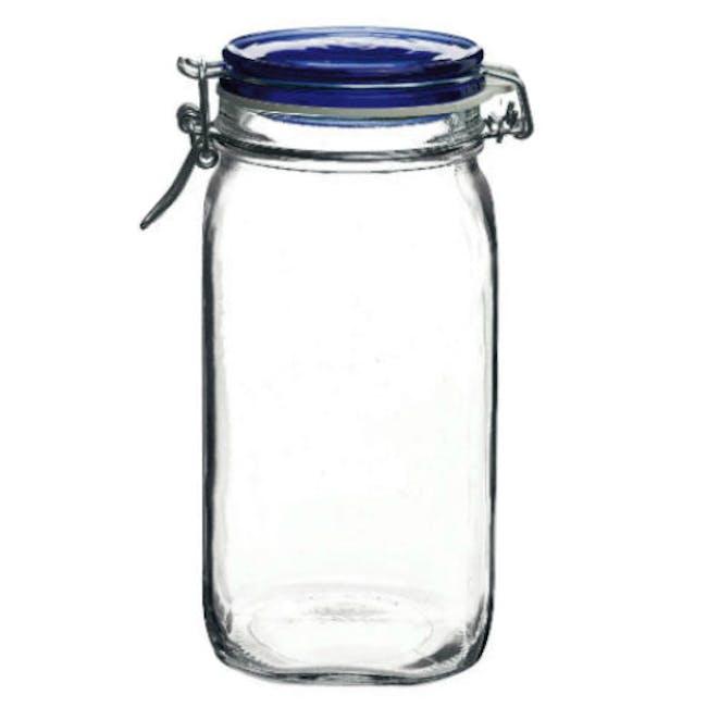 Fido Jar Herm 1500 - Blue Top - 1