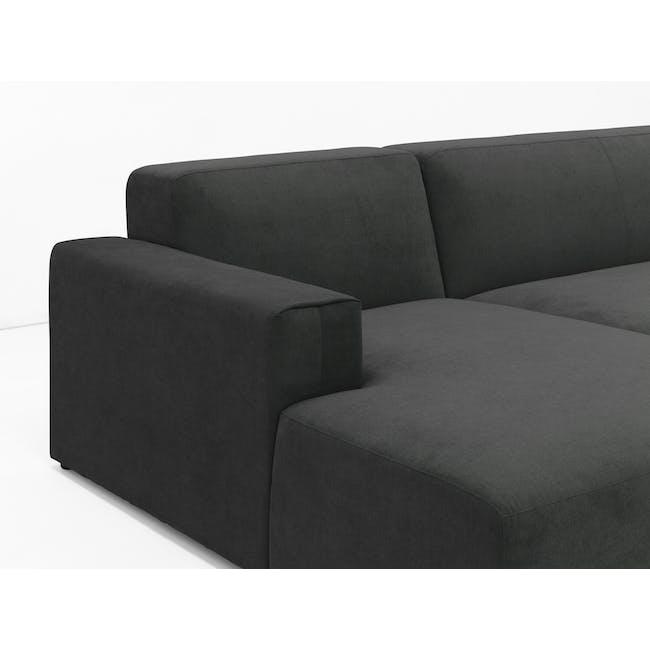 Adam L-Shaped Sofa - Granite - 2