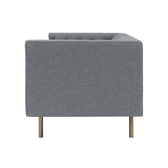 (As-is) Cadencia Armchair - Charcoal Grey (Fabric) - 2