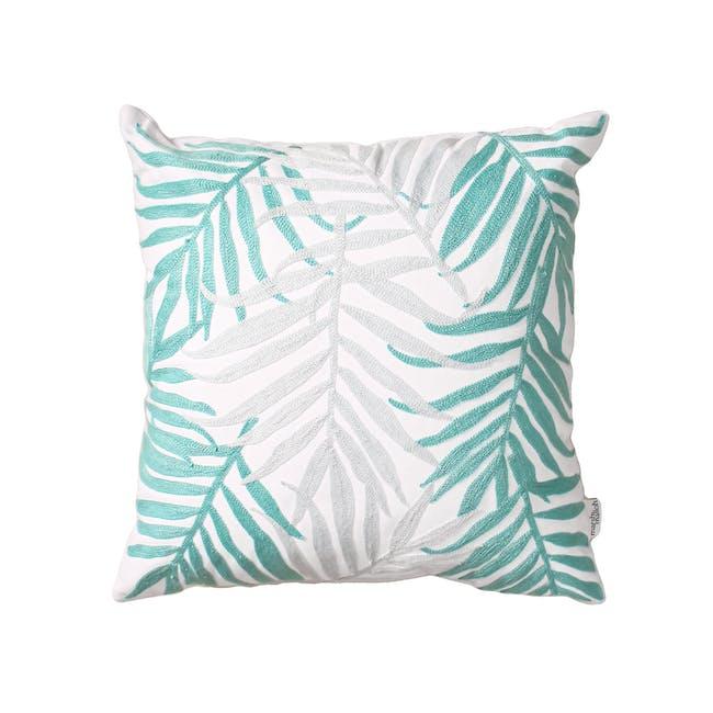 Lazarus Island Throw Cushion - Green - 0