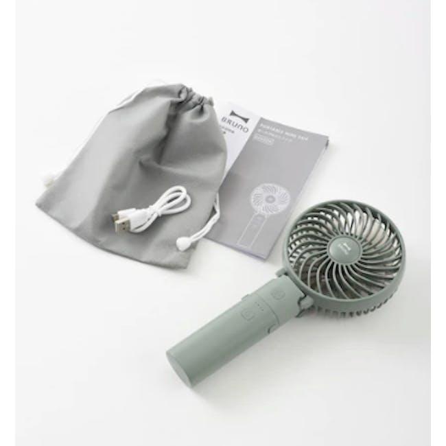 BRUNO USB Mini Fan - Green - 2