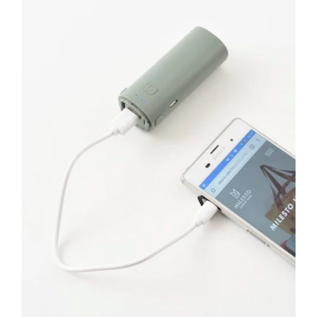 BRUNO USB Mini Fan - Green - 3