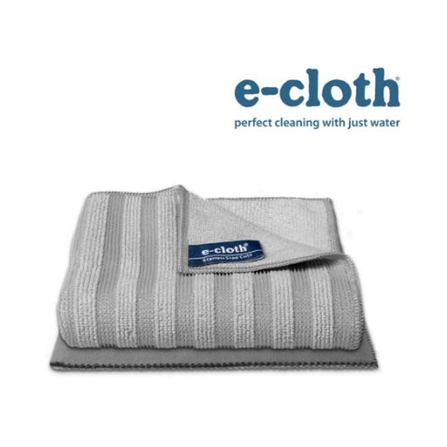 e-cloth Stainless Steel Eco Cleaning Cloth Pack (Set of 2) - 1