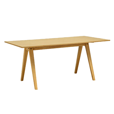 (As-is) Varden Dining Table 1.7m - Natural - 1 - Image 1