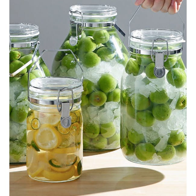 Cellarmate Airtight Glass Container (4 Sizes) - 1