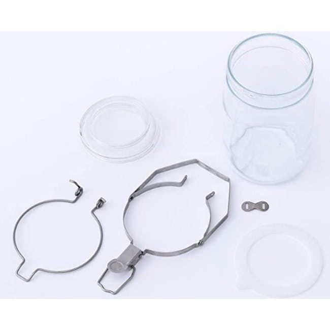 Cellarmate Airtight Glass Container (4 Sizes) - 12