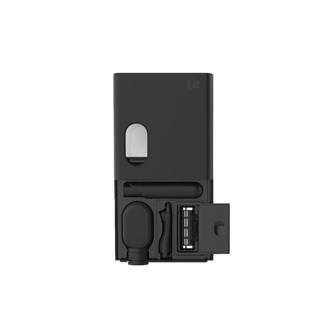 Tic Oral Care & Razor Kit - Matte Black - 0