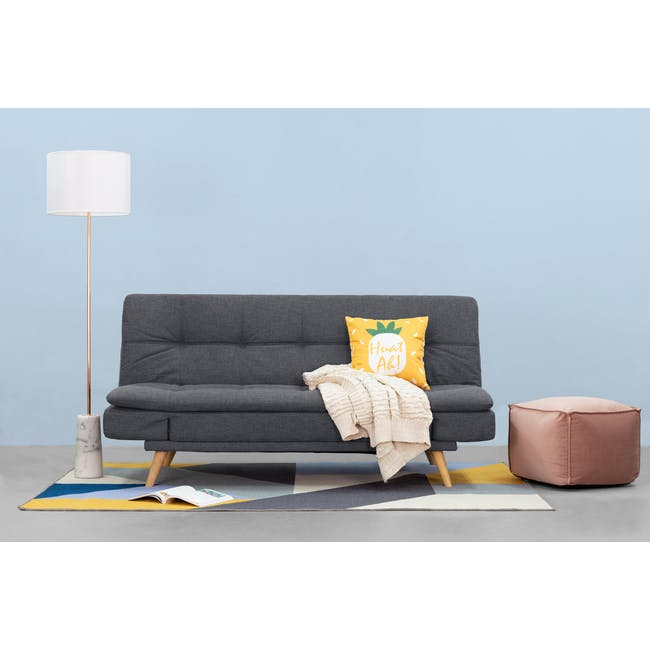 Kara Sofa Bed - Hailstorm - 12