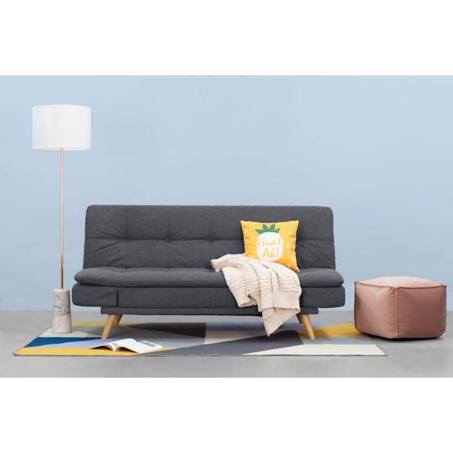 Kara Sofa Bed - Pigeon Grey - 2