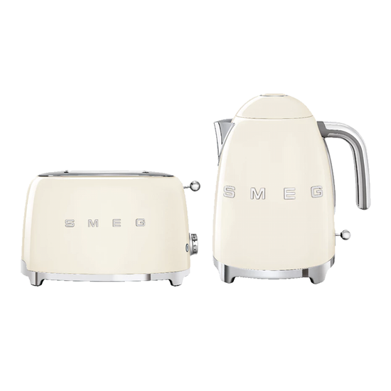HipVan Bundles - Smeg Cream Breakfast Set - Toaster and Kettle