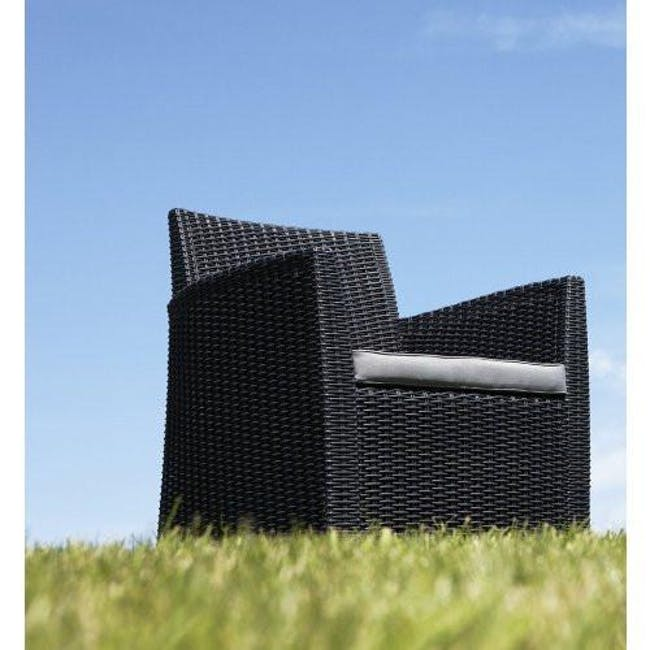 Corona Lounge Set - Graphite - 3