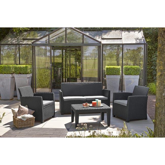 Corona Lounge Set - Graphite - 1