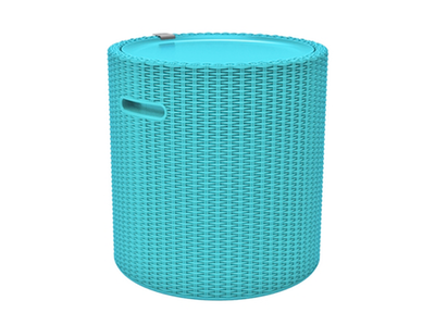 (As-is) Cool Stool - Turquoise - A