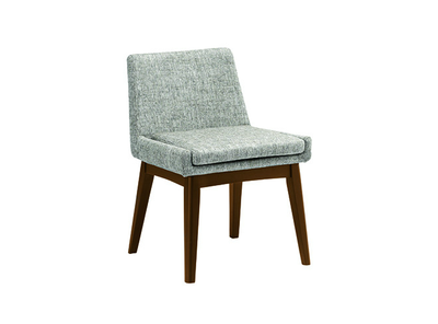 Fabian Dining Chair - Cocoa, Pebble