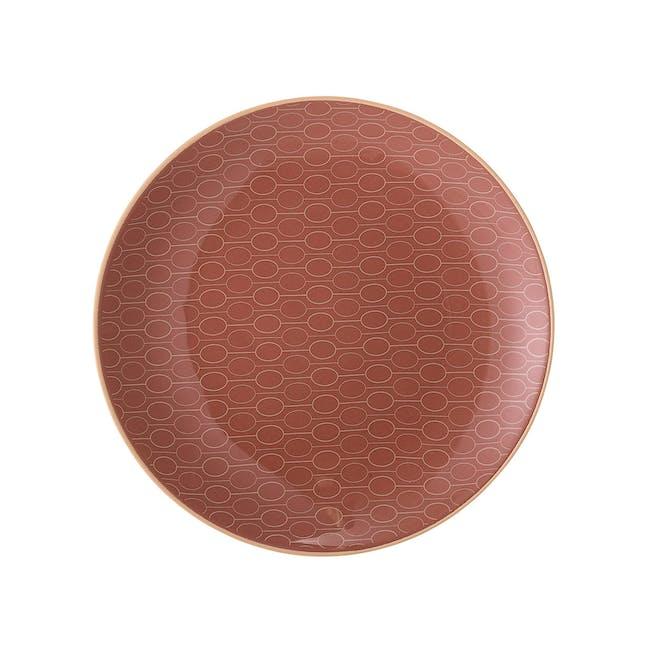 Pallas Dinner Plate - Brick Red - 0