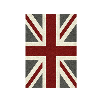 Noblesse Cosy Union Jack Rug - Red