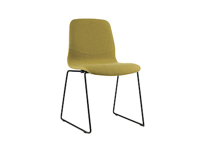 Bianca Dining Chair - Matt Black, Oasis - Image 1